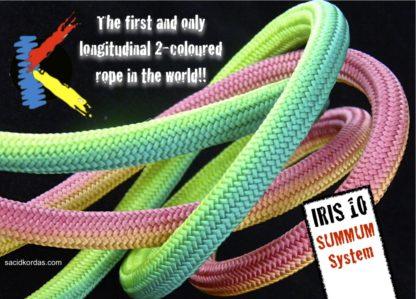 Statisch touw Kordas IRIS 10 mm (Summum systeem)