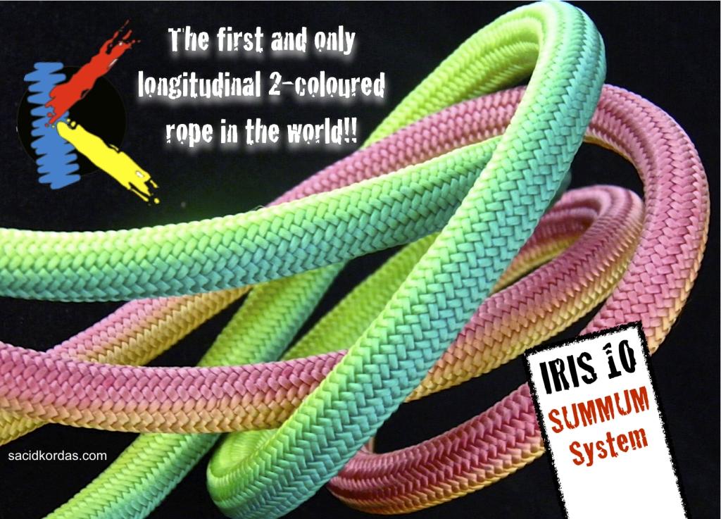 Kordas Iris 10mm static rope
