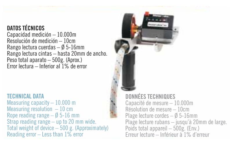 Appareil de mesure de corde professionnel (Kordas Cuentametros)