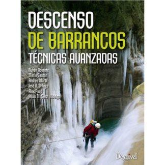 Manuel espagnol sur les techniques avancées de canyoning.