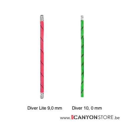 Edelrid Diver 10mm / Diver Lite 9mm