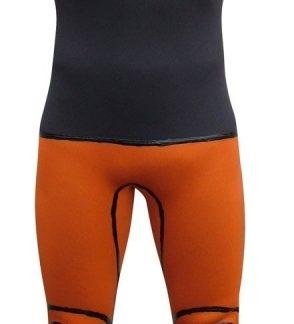 Seland ESCALO | Pantalon (long john) de canyoning (Orange/Gris Foncé)