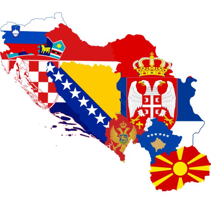 Slovénie / pays des Balkans