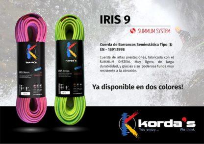 Kordas IRIS 9mm - Pink - Green
