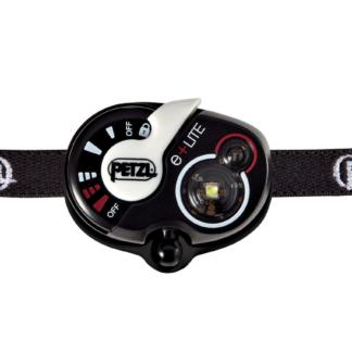 Petzl E+LITE, Lampe frontale de secours ultra-compacte, 50 lumens