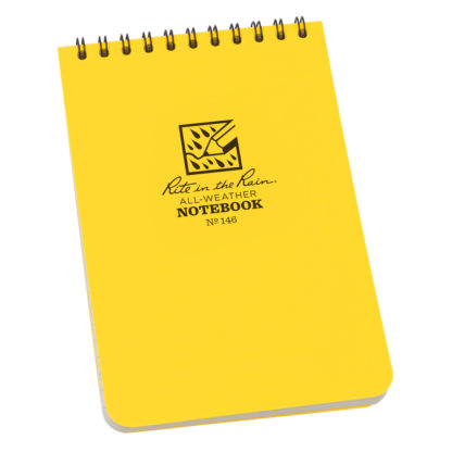 R558101 Rite in the Rain All-Weather Notebook (Medium), 15,5 x 10,5 cm, 93 g
