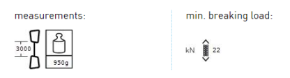 AustriAlpin CORE. DY Rap Line 30m
