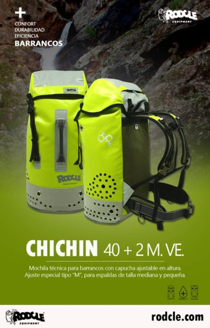 Rodcle Chichin 40+2 rugzak (40L) - Verde (Groen)