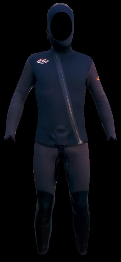 Seland ESCALO - black/grey - jacket and long john
