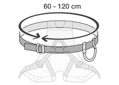 Taille unique permettant de s'adapter à la plupart des morphologies.