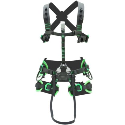 Kong Target sit harness + Target Cave Smart chest harness