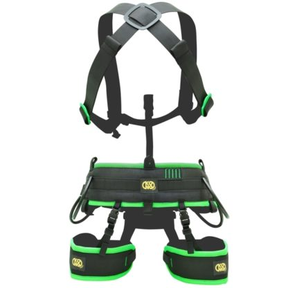 Kong Target Cave sit harness + Target Cave Smart chest harness